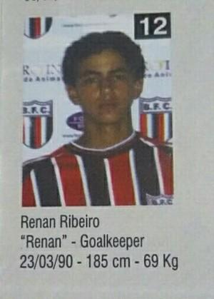 Renan Ribeiro (Foto: Arquivo pessoal)