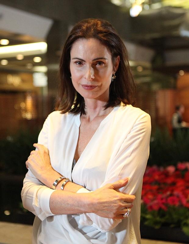 Silvia Pfeifer volta a fazer novela depois de quatro anos (Foto: Carol Caminha/Gshow)