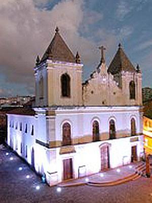 Igreja da Barroquinha, onde funciona o centro cultural  (Foto: Divulgação/ Fundação Gregório de Matos)