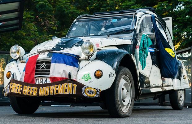 Citroën 2CV do Pan American Futbol Project (Foto: Divulgação)