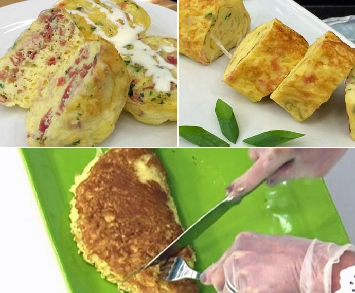 Mais Você dá três opções de omeletes para você saborear (Foto: Mais Você/Gshow)