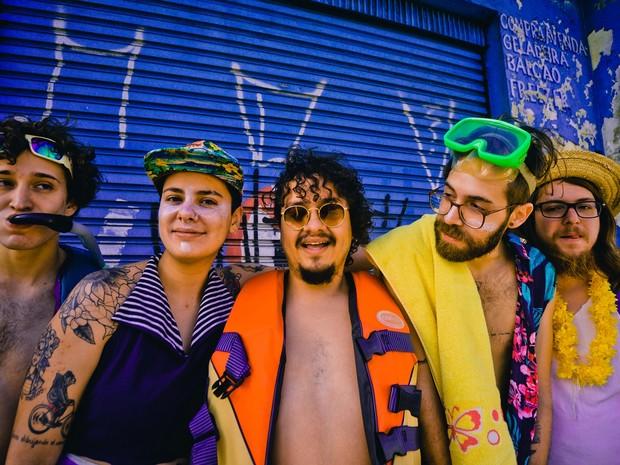 """Banda Francisco, El Hombre apresenta show """"Soltasbruxa"""" em Mogi das Cruzes (Foto: Nube Abe/Divulgação)"""