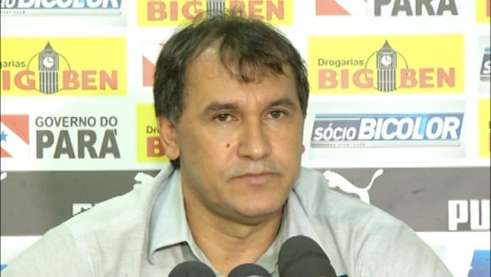 Vandick Lima, presidente do Paysandu (Foto: Reprodução/TV Liberal)