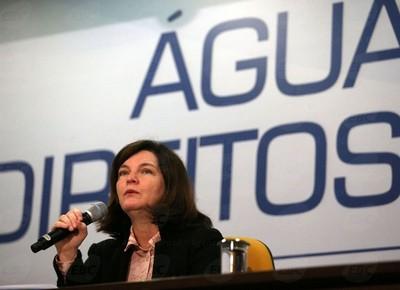 pgr-raquel-seminario-agua (Foto: Agência Brasil)