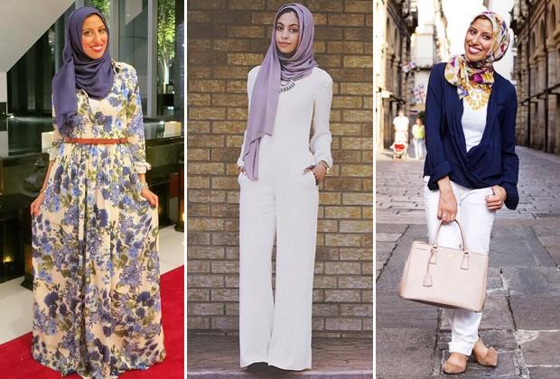 Melanie Elturk criou o primeiro blog de moda dedicado às mulheres muçulmanas (Foto: Reprodução Instagram)