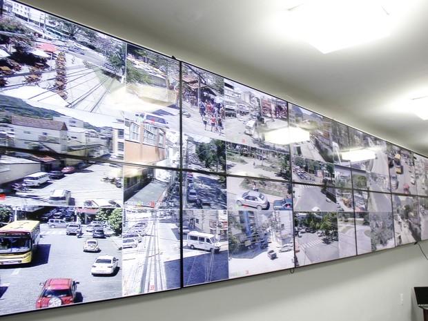 Ao todo, 32 câmeras farão o monitoramento da cidade (Foto: Ascom Nova Friburgo/Divulgação)