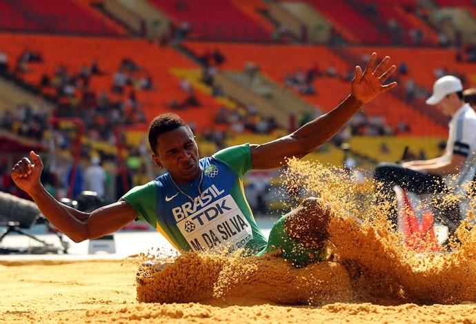 mundial de atletismo Mauro vinícius da silva duda salto em distância (Foto: Agência Getty Images)