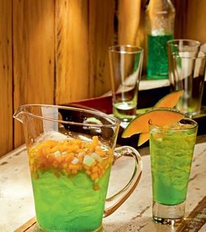Drinque de melão tropical (Foto: Casa e Comida)