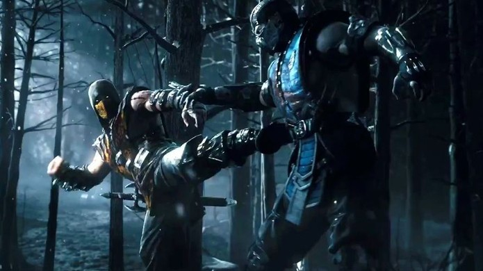 A eterna luta entre Scorpion e Sub-Zero continuará em Mortal Kombat X (Foto: geekexchange.com)