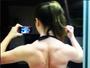 Ex-BBB Laisa Portela mostra costas musculosas: 'Estamos construindo'