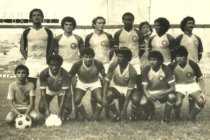 Valter Maranhão no Tiradentes-PI (Foto: Acervo Severino Filho)
