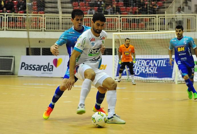 Concórdia Minas liga nacional de futsal (Foto: Ricardo Artifon/ACF)