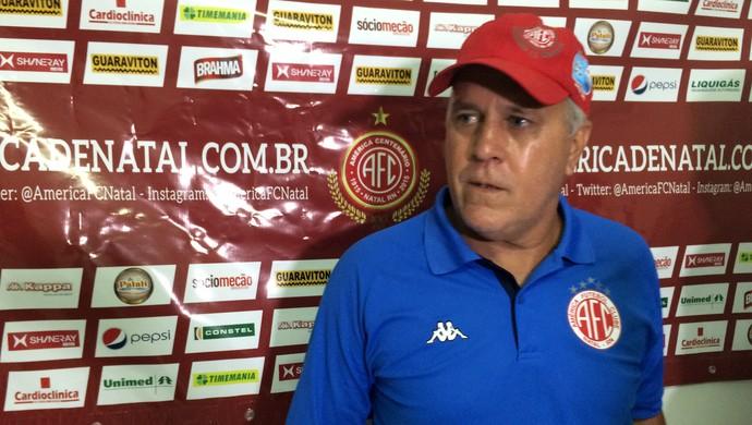 América-RN - Aluísio Moraes Guerreiro (Foto: Carlos Cruz/GloboEsporte.com)