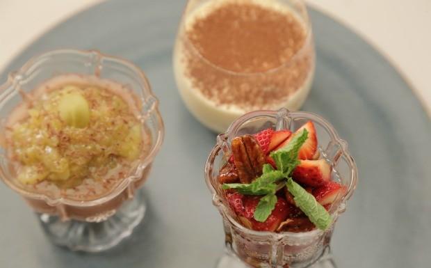 Que Seja Doce - Ep. 7 - Famlia - Verrines de tiramissu, morango e chocolate (Foto: Divulgao)