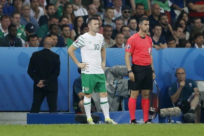 Robbie Keane, Itália x Irlanda (Foto: REUTERS/Carl Recine)