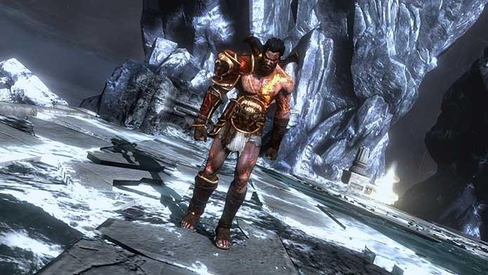 Deimos pode ser ouvido em God of War 3 (Foto: Reprodução/YouTube)