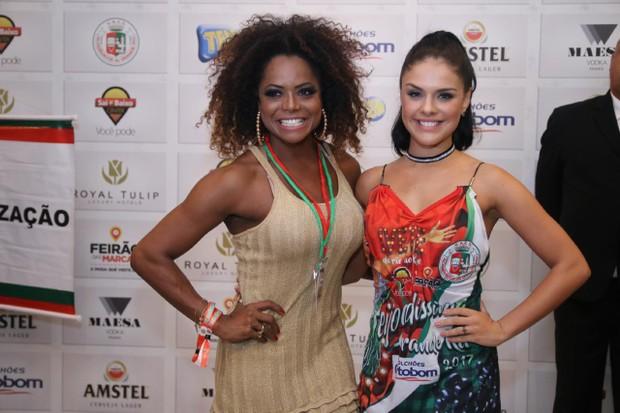 Adriana Bombom e (Foto: Daniel Pinheiro/AgNews )