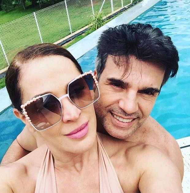 Jarbas Homem de Mello e Claudia Raia (Foto: Reprodução/Instagram)