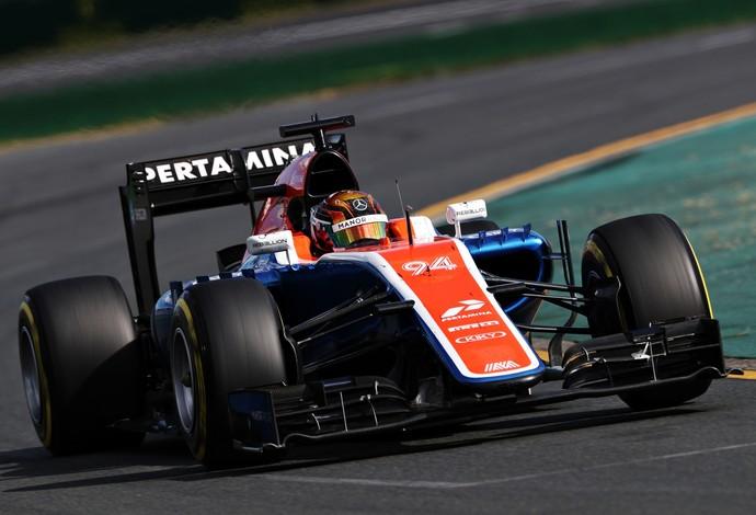 Pascal Wehrlein, Manor, GP da austrália 2016 (Foto: Getty Images)