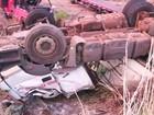 Homem morre após acidente com caminhão na TO-373