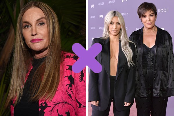 Caitlyn Jenner X Kardashians (Foto: Getty Images)