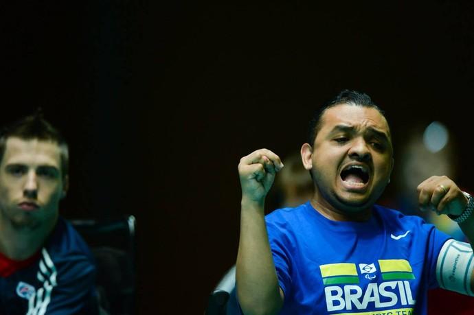 Maciel Santos, bocha paralímpica (Foto: Divulgação/Alex Ferro)
