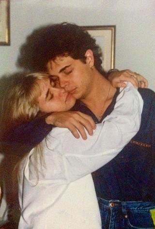 Andréia Sorvetão e Conrado abrem baú de fotos de seus 20 anos de casamento (Foto: Arquivo Pessoal)