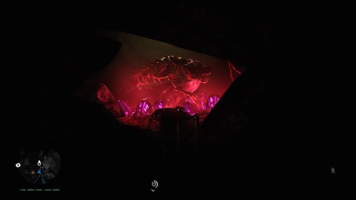 Far Cry Primal tem referência ao spin-off Blood Dragon (Foto: Reprodução/Victor Teixeira)
