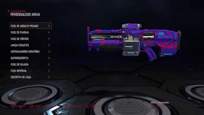 Doom: armas são personalizáveis no novo Doom (Foto: Reprodução/Victor Teixeira)
