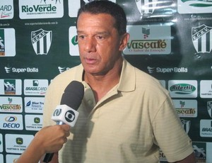 Mauro Fernandes, técnico do Rio Verde (Foto: Hermon Dourado/E.C. Rio Verde)