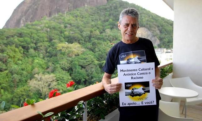 Chico Buarque em apoio à campanha