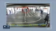 Vigilante flagra tráfico de drogas dentro da estação do metrô