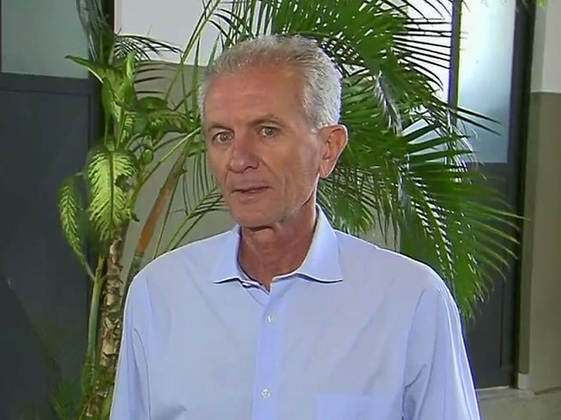 Mário Botion (PSD) após ser eleito prefeito de Limeira em 2016 (Foto: Reprodução/EPTV)