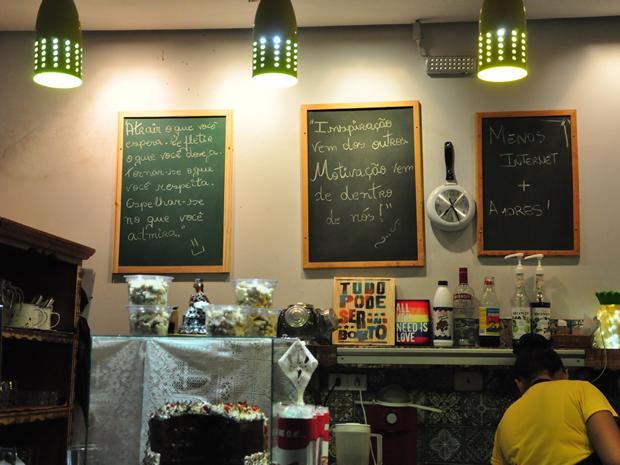 Tapiocaria funciona na Rua 24 de outubro, em Cuaibá (Foto: André Souza/G1)