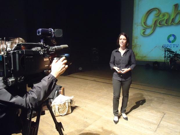 Lançamento Gabriela em Curitiba (Foto: Divulgação/RPC TV)