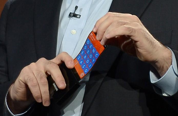 Samsung dobrável (Foto: AFP)