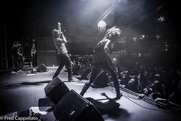 Último show da banda A Banca (Foto: Fred Capellato Fotografia/Facebook)