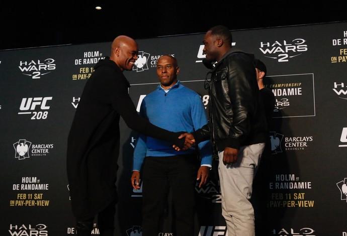 Anderson Silva x Derek Brunson UFC 208 (Foto: Evelyn Rodrigues)