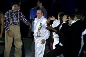 Renato Aragão na festa de 50 anos da Globo no Rio (Foto: Roberto Teixeira/ EGO)