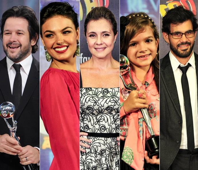 Melhores do Ano 2012 rendeu prêmios para cinco atores de Avenida Brasil (Foto: TV Globo)