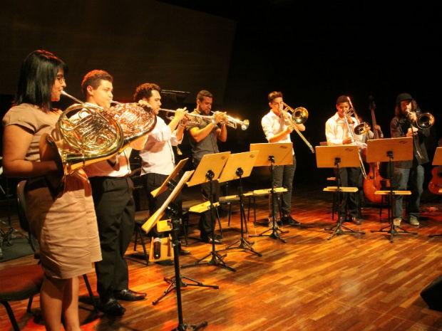 Audição de metais apresenta trilha sonora de filmes na Fundec Sorocaba (Foto: Divulgação/ OS2 Comunicação)