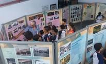 Exposição em escolas conta história (Divulgação/IHC)