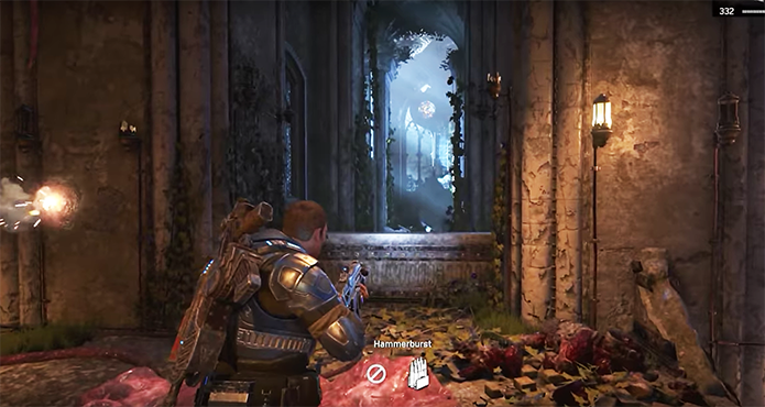 Gears of War 4 é o novo e mais bonito jogo da série (Foto: Reprodução/YouTube)
