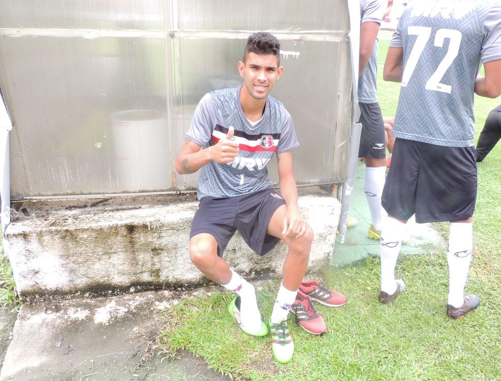 Augusto foi destaque do Campinense, com 13 gols em 21 jogos (Foto: Eryck Gomes)
