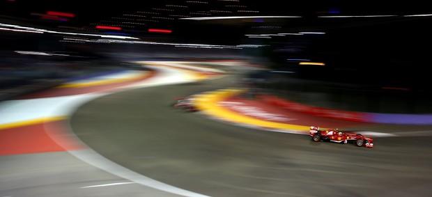 Felipe Massa teve atuação discreta em Cingapura (Foto: Getty Images)