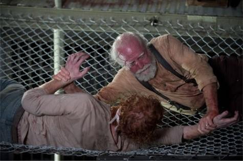 Scott Wilson (Hershel) em 'The walking dead' (Foto: Reprodução da internet)