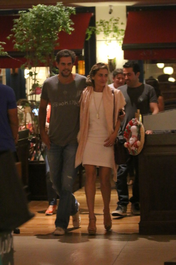 Giovanna Antonelli e Leonardo Nogueira (Foto: Ag. News)