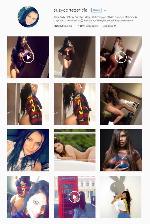 Instagram de Suzy Cortez (Foto: Instagram / Reprodução)