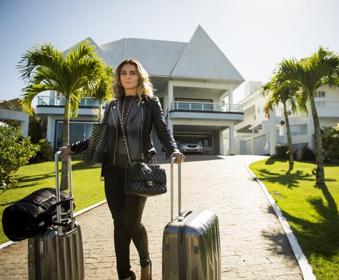 Giovanna Antonelli será Francineide dos Santos, mais conhecida como Atena em A Regra do Jogo (Foto: João Miguel Júnior/ Globo)