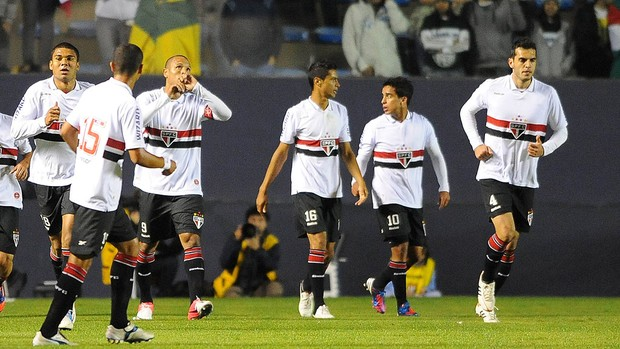 Luis Fabiano, Palmeiras x São Paulo (Foto: Marcos Ribolli / Globoesporte.com)